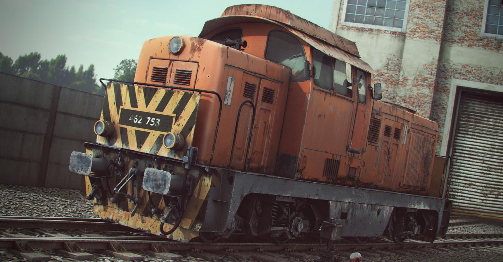 M43 Train reshoot