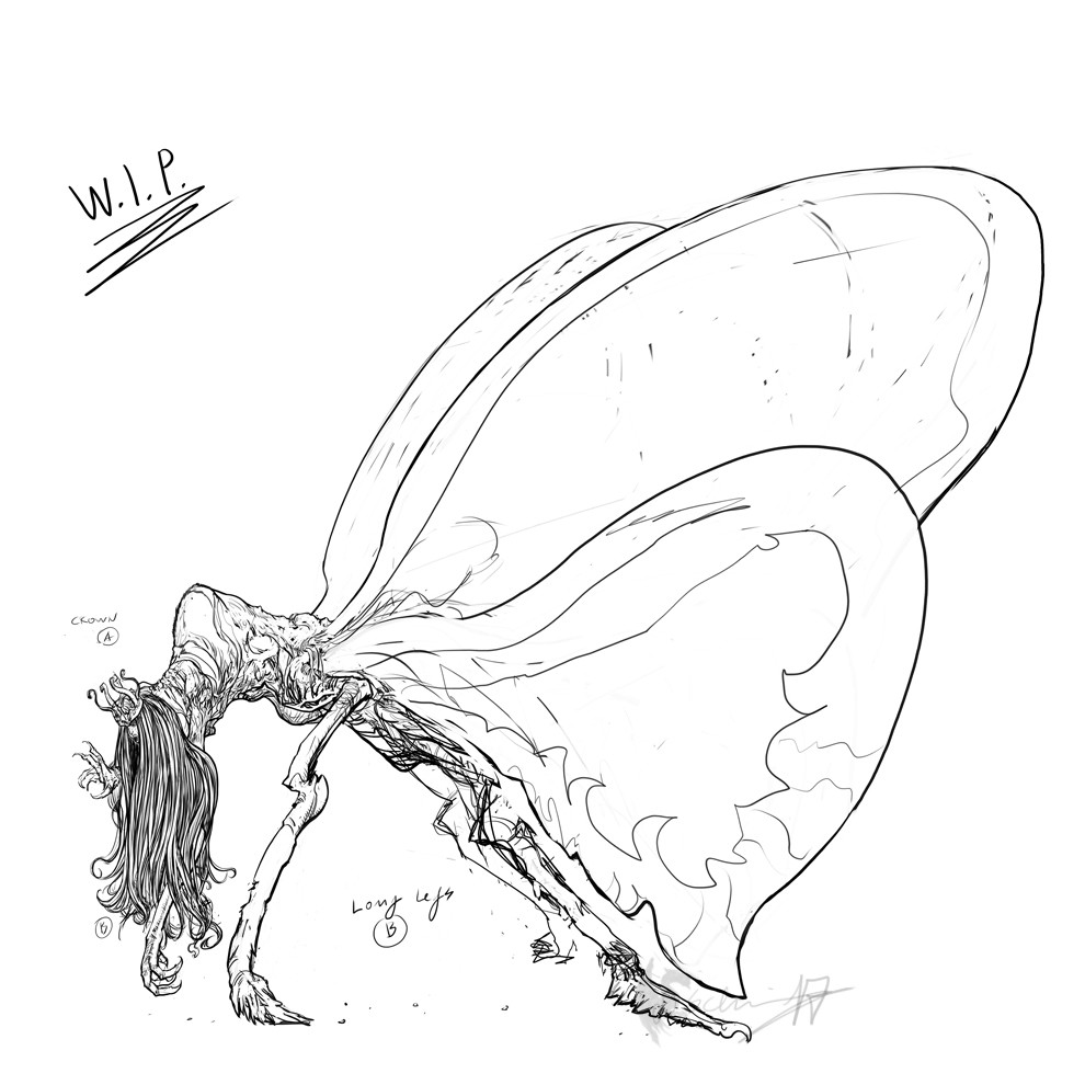 The Corrupted Butterflyqueen - 2nd work in progress