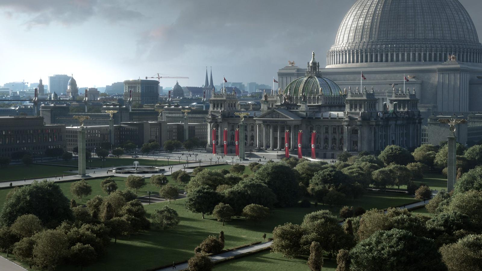 Ben McDougal VFX - Man in the High Castle s2 - Germania/Misc