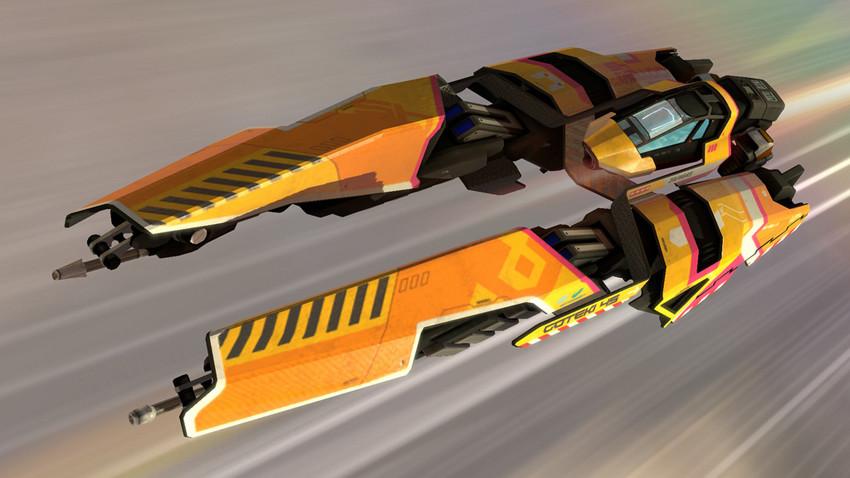 Goteki FURY (In-game screenshot)
