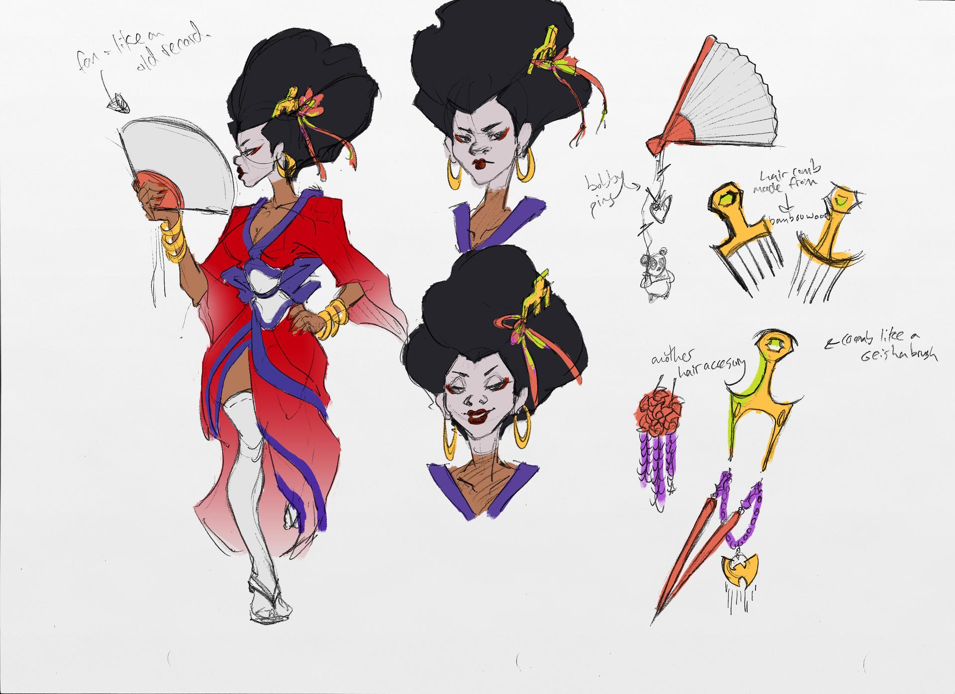 Sandra grunberg geisha girlr