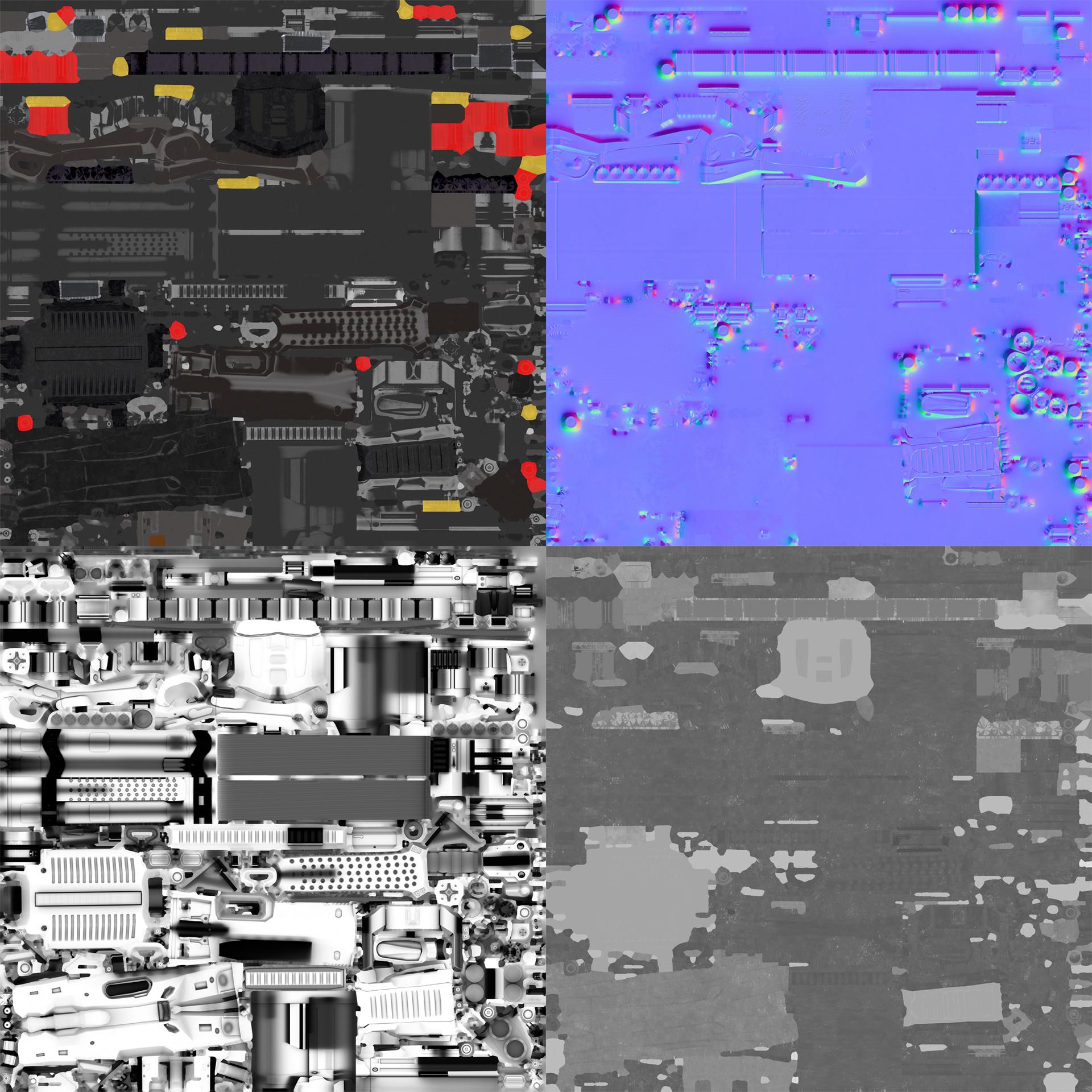 Gokhan galex ilhan vc30 texture sets
