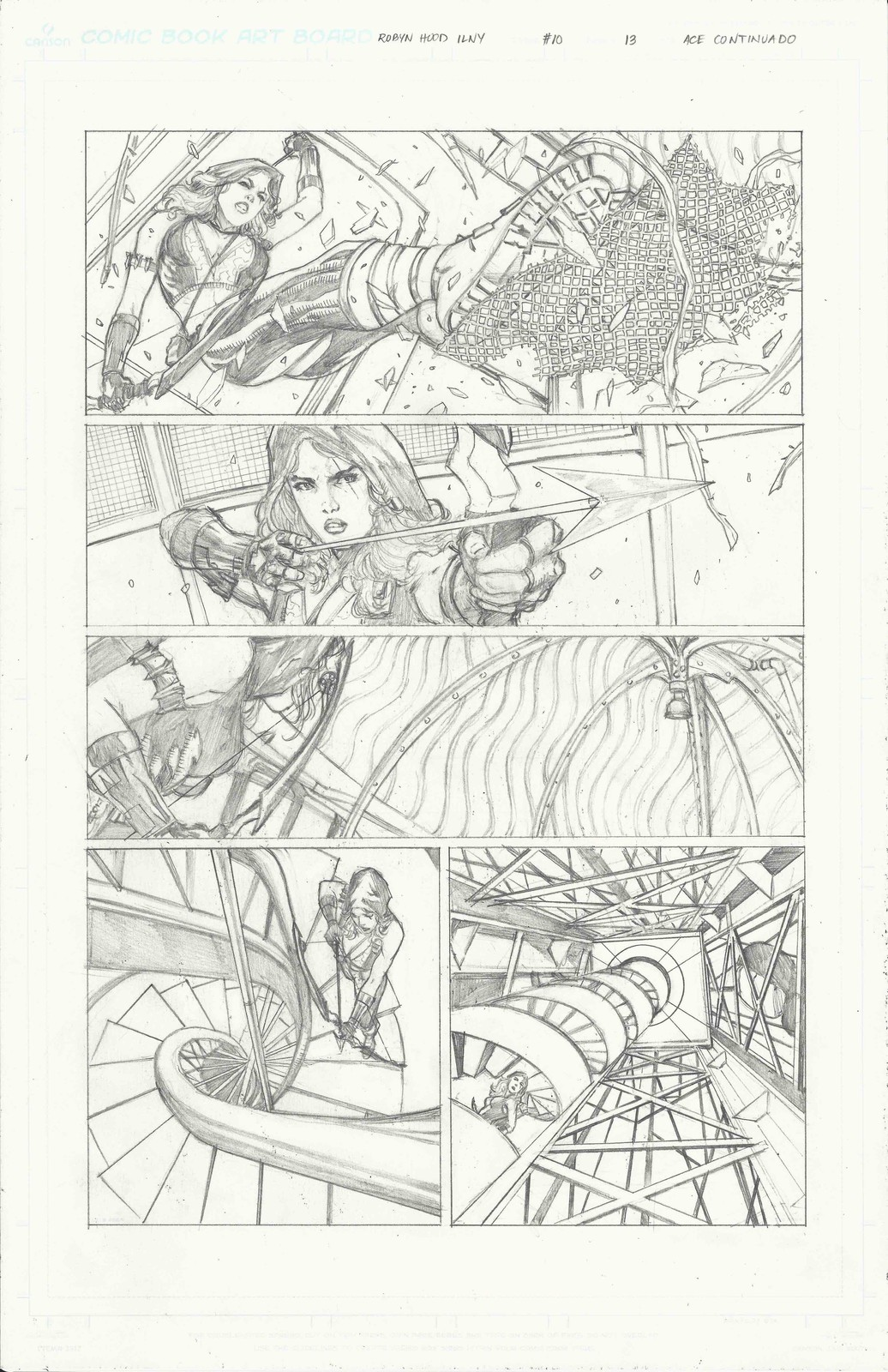 Page 13 of Robyn Hood I Love New York #10 from Zenescope Entertainment.