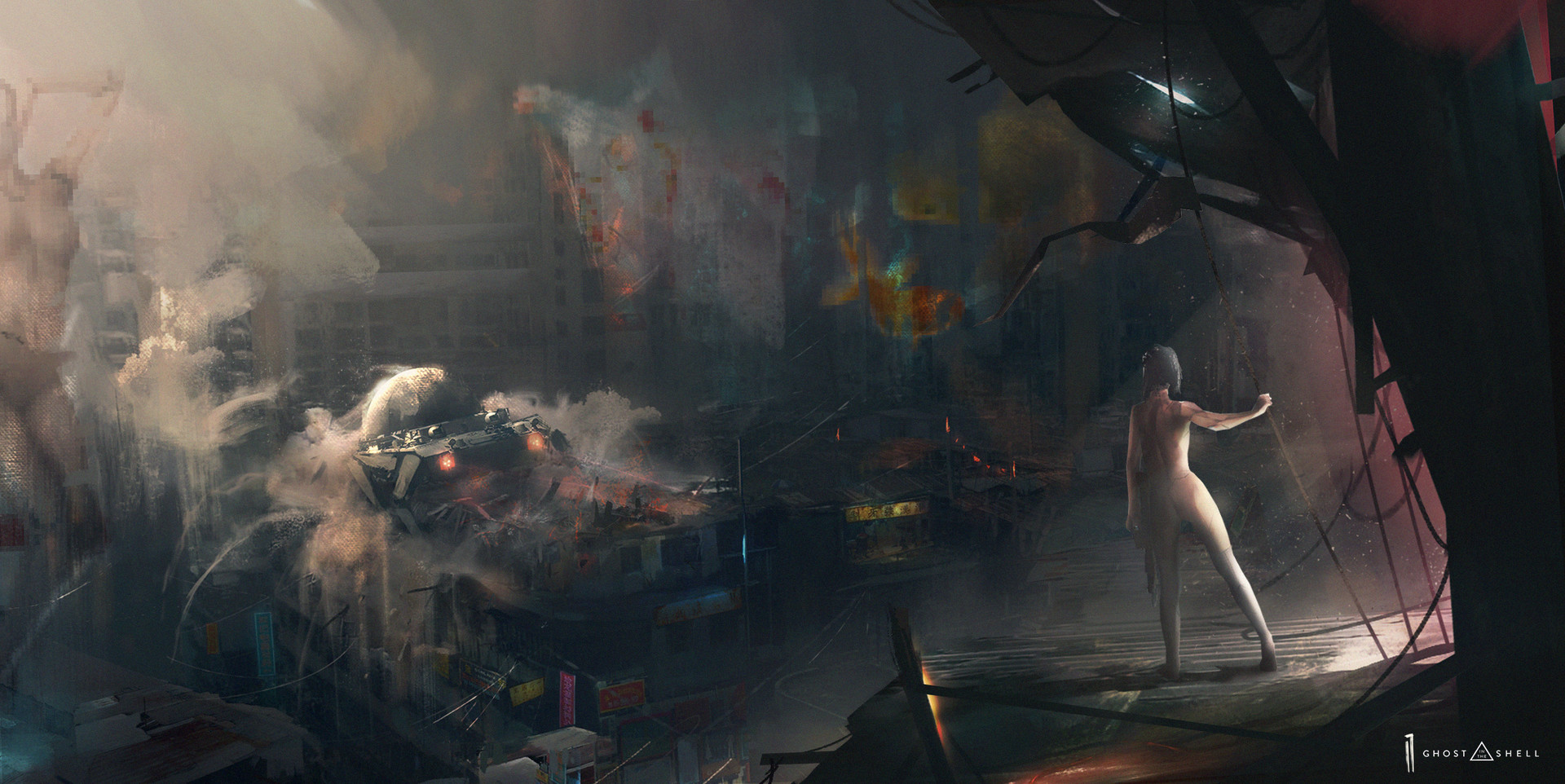 Ismail inceoglu final edge ghost in the shell