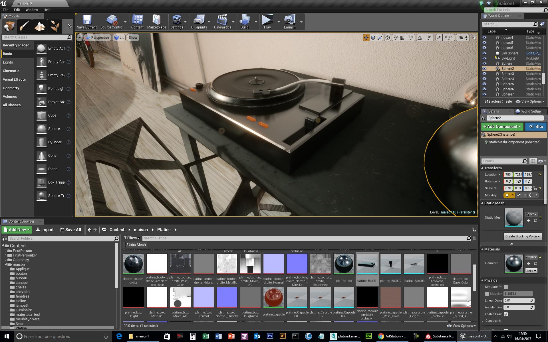 ArtStation - Workflow: 3dsmax / substance painter / Unreal