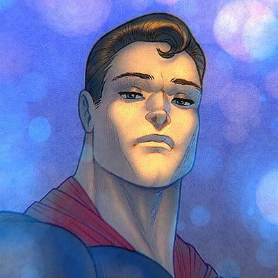 Syko san superman colours 4web