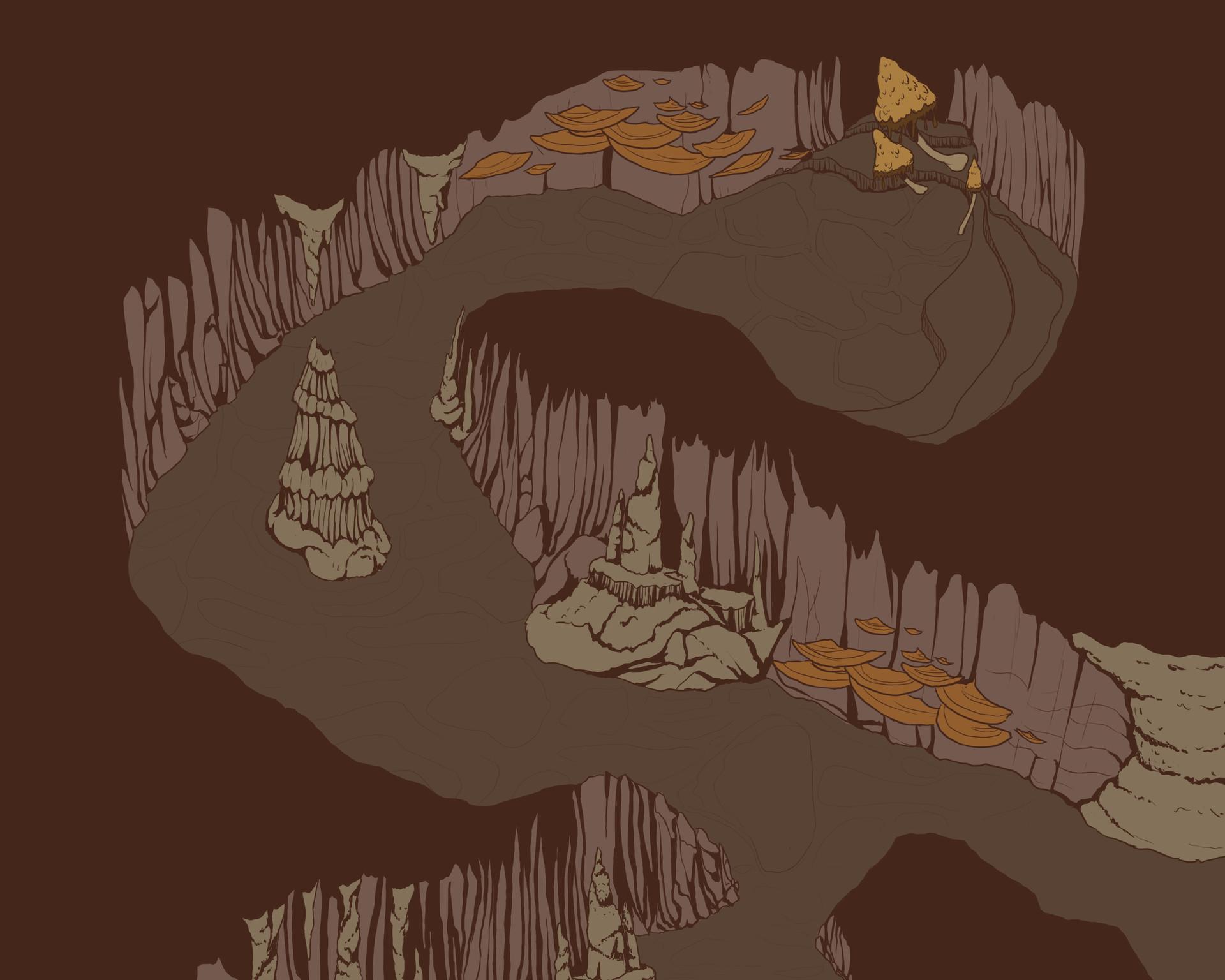 Elizabeth boren cave environment