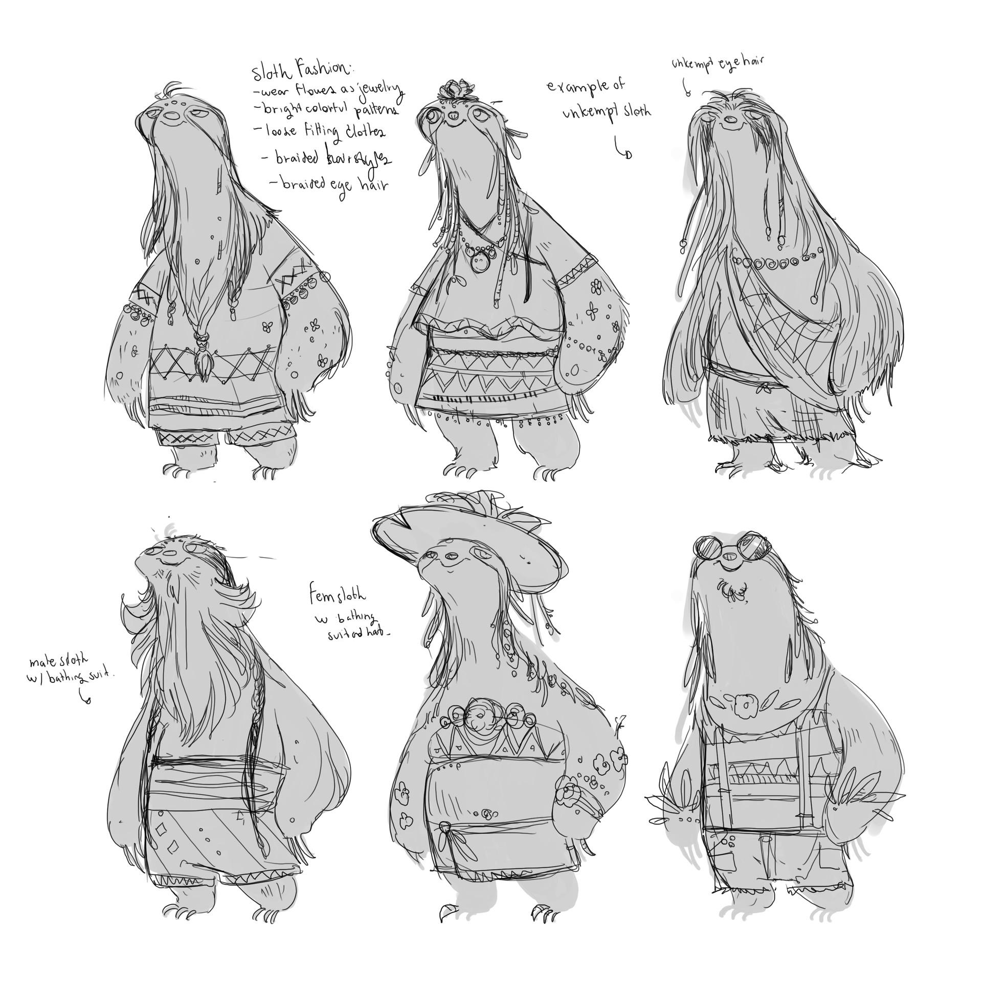 Stef tastan sloths2 cropped