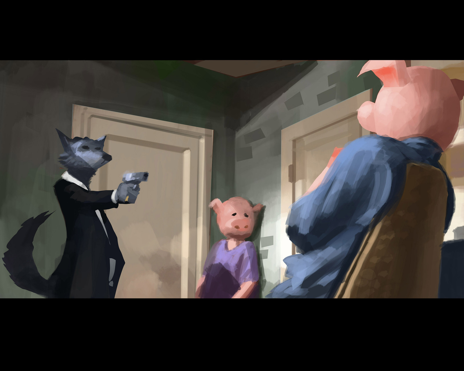 Pig Fiction