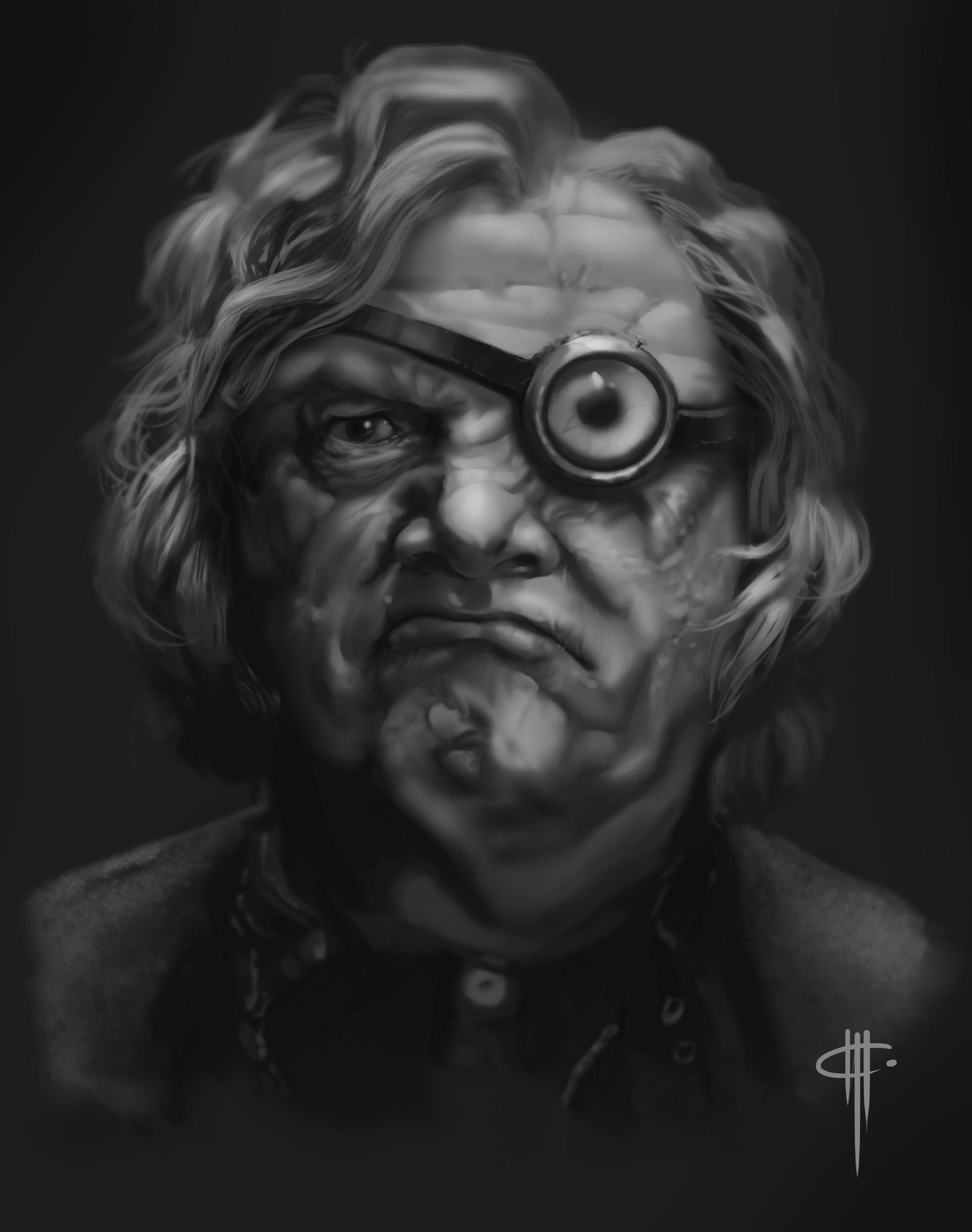 ArtStation - Alastor Mad Eye Moody - Harry Potter fanart ...