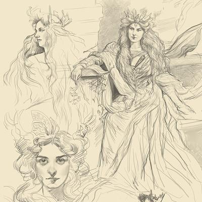 Practice Sketches I