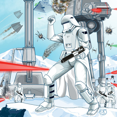 Tom amici seige of hoth base