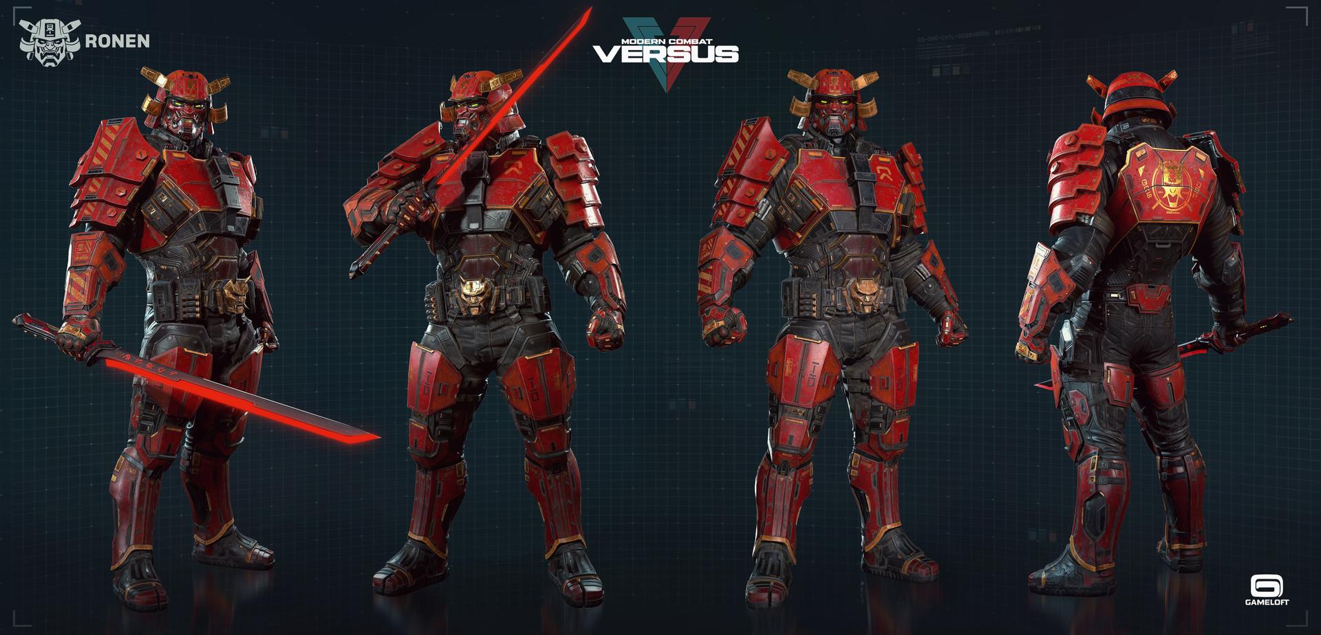 Rodrigue Pralier - Ronen - Modern Combat Versus - Gameloft