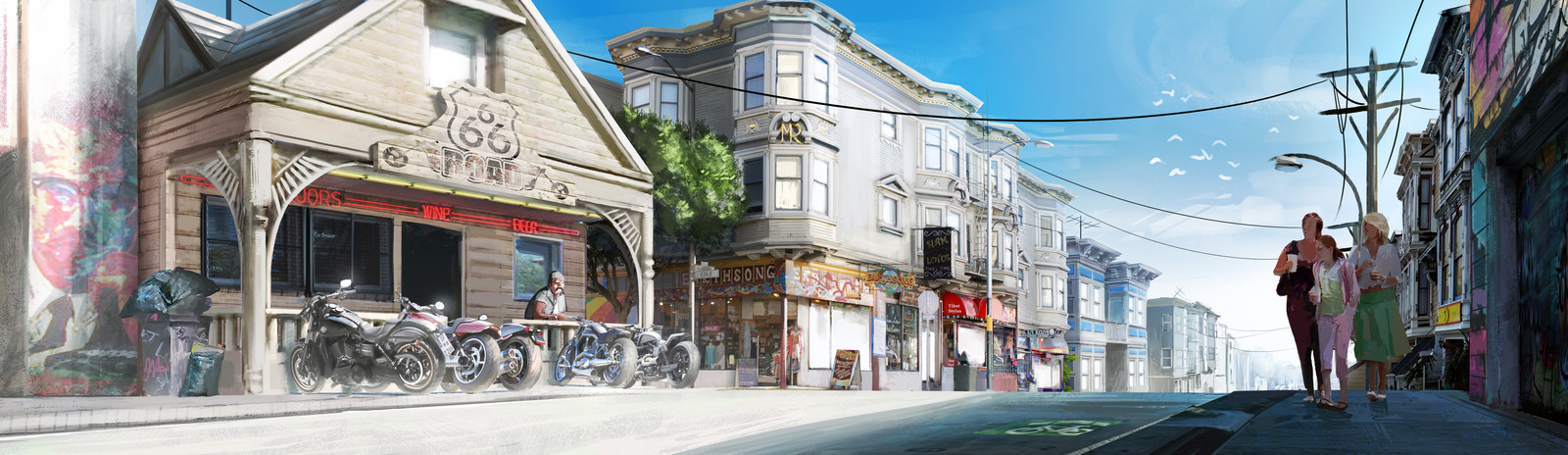 San Francisco Bikers'Bar