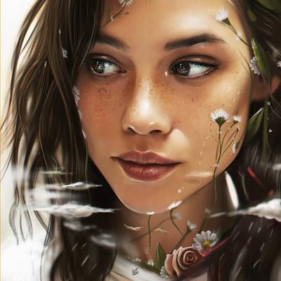 Yasar vurdem portrait of astrid berges frisbey d dream by vurdem db68rh4