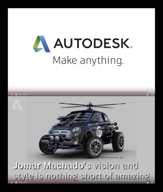Jomar machado autodesk front post 18 04 2017
