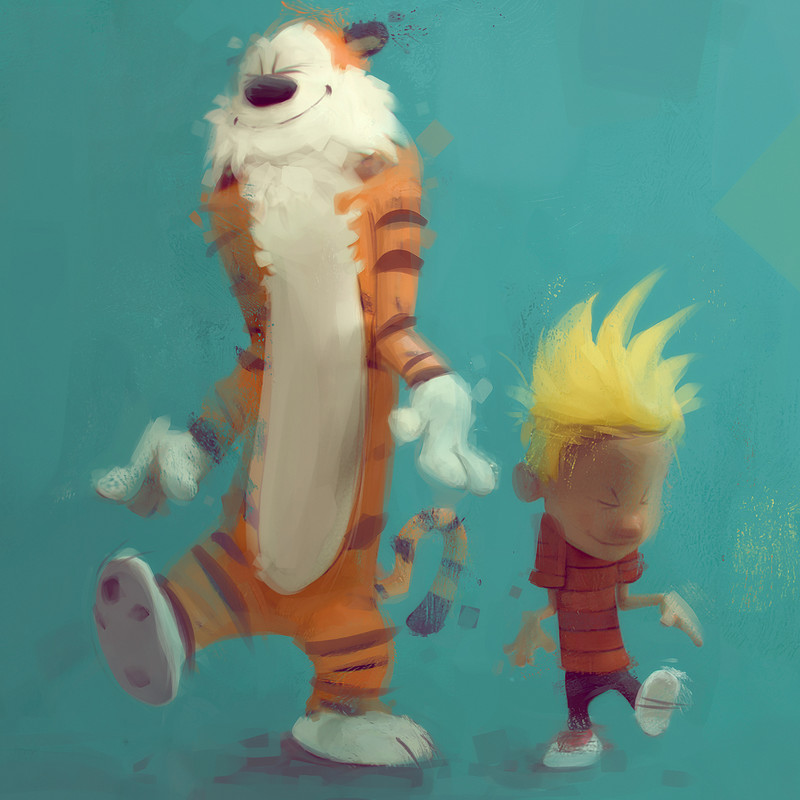 """Calvin And Hobbes"" Tribute!"