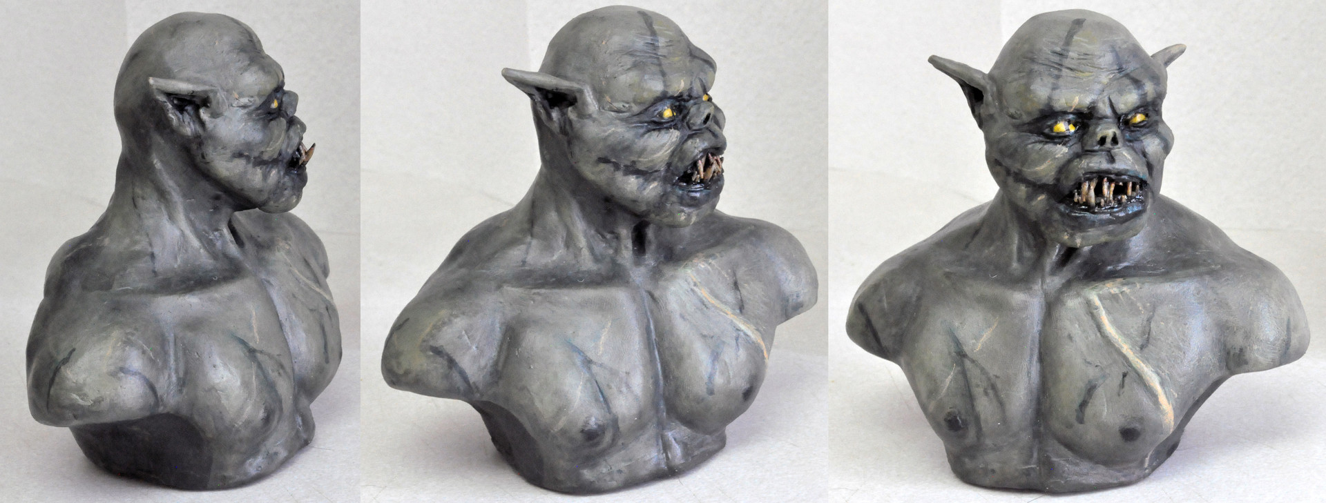Gregory george orcbust1