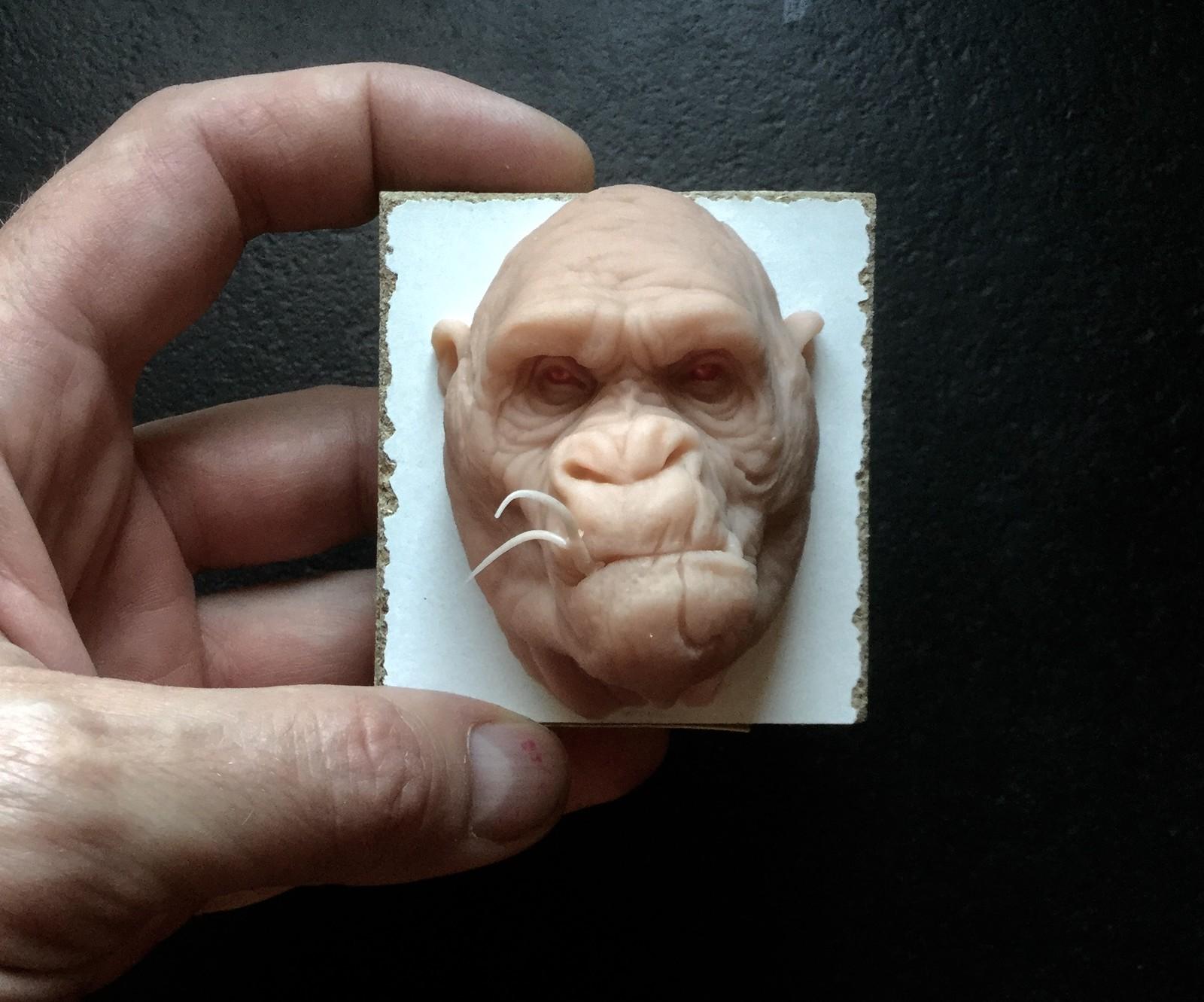 Gorilla/ super sculpy/