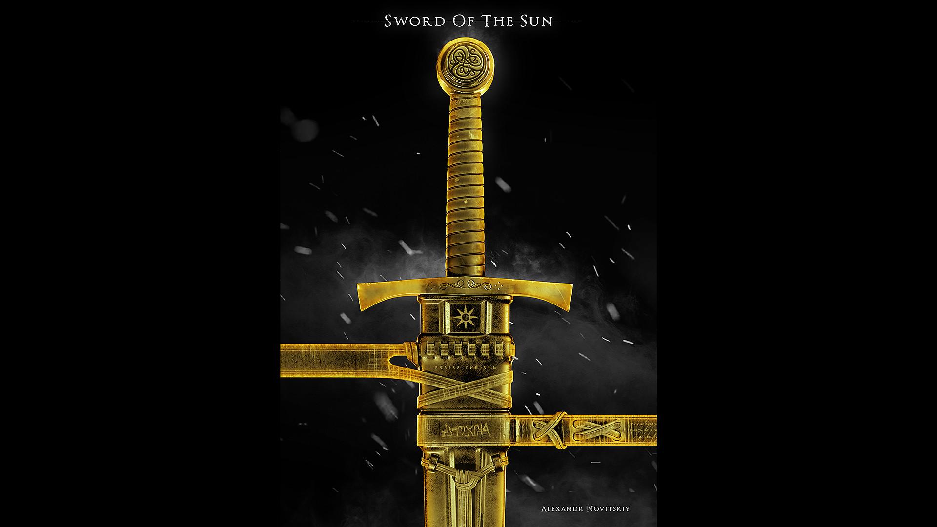 Alexandr novitskiy dark knight sword style 02
