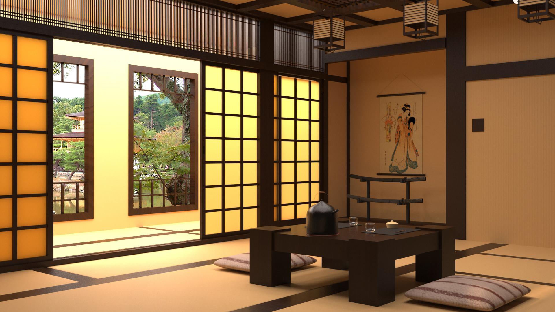 japanese home concept art low budget interior designlex joosen classic japanese roomlex joosen concept art final