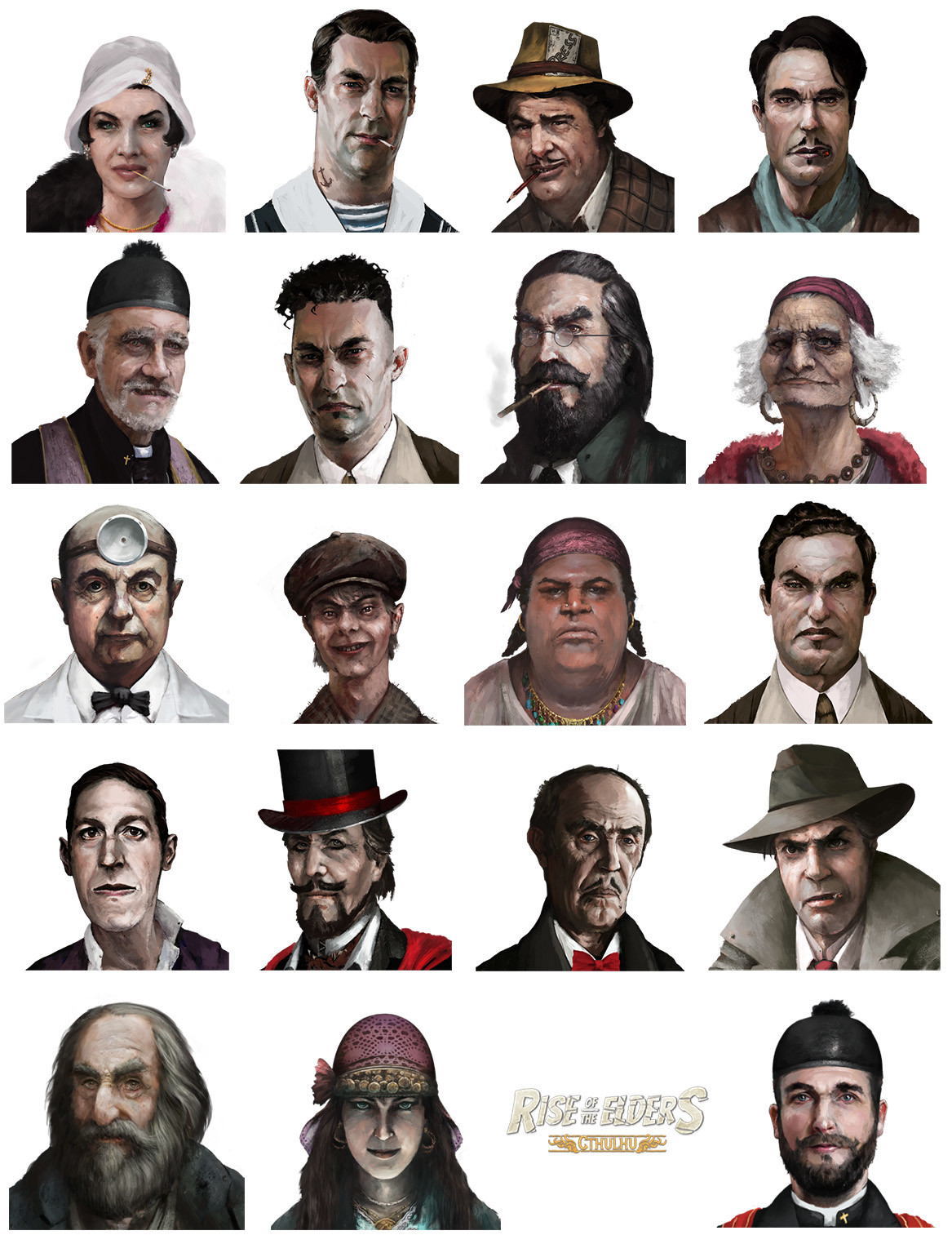 Mug shots (Rise of the Elders : Cthulhu)