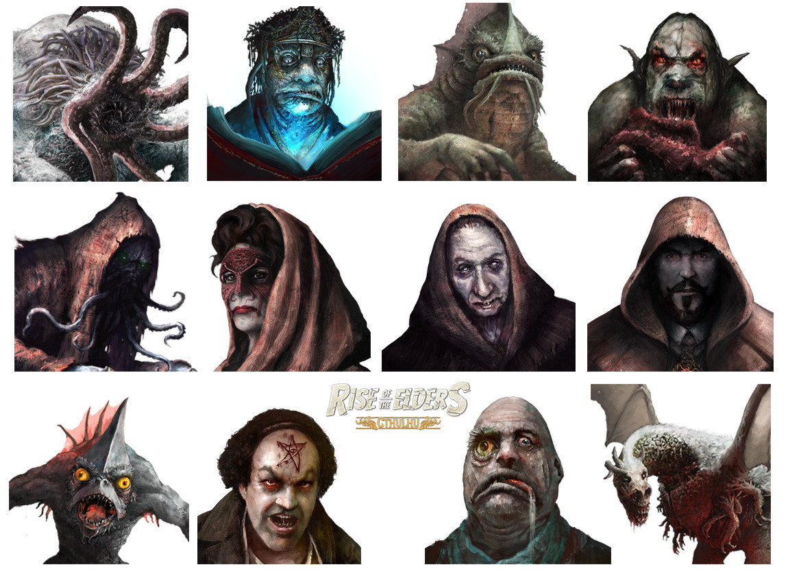 Mug shots 2 (Rise of the Elders : Cthulhu)