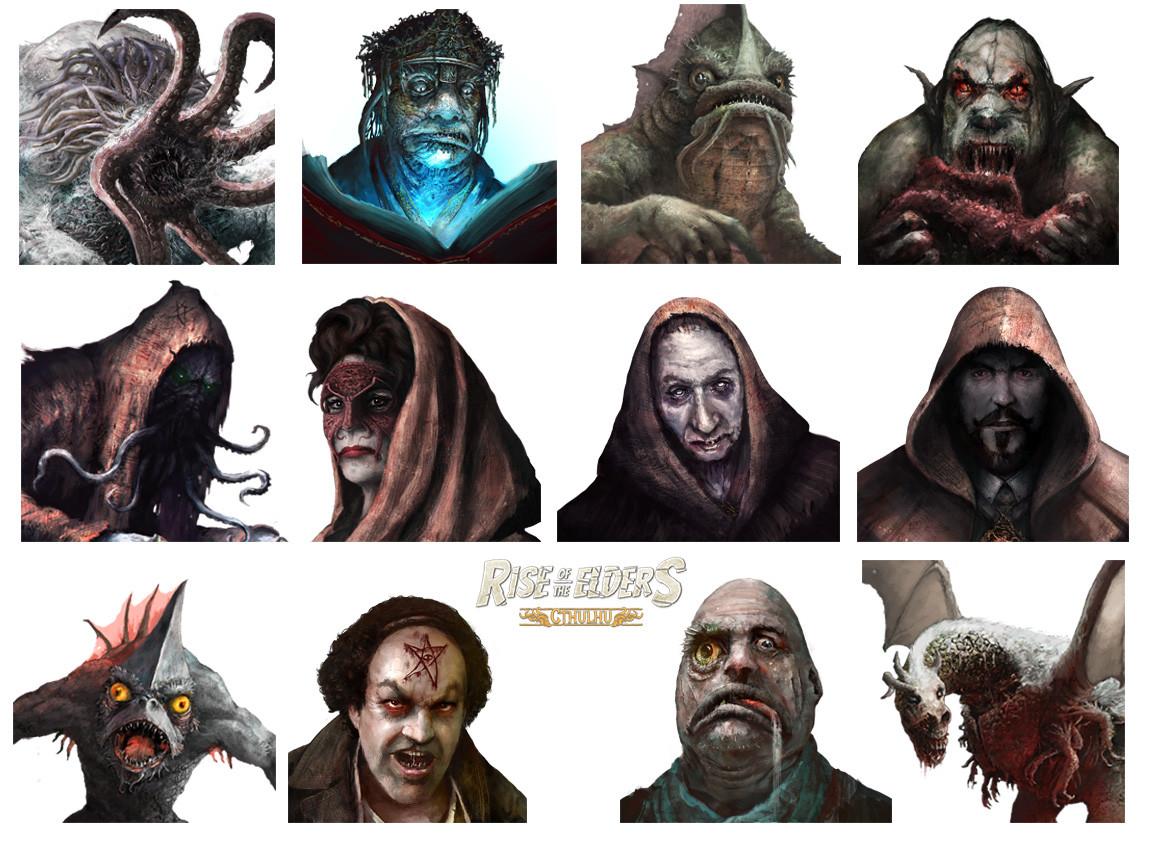 Mug shots 2 (Rise of the Elders : Cthulhu)