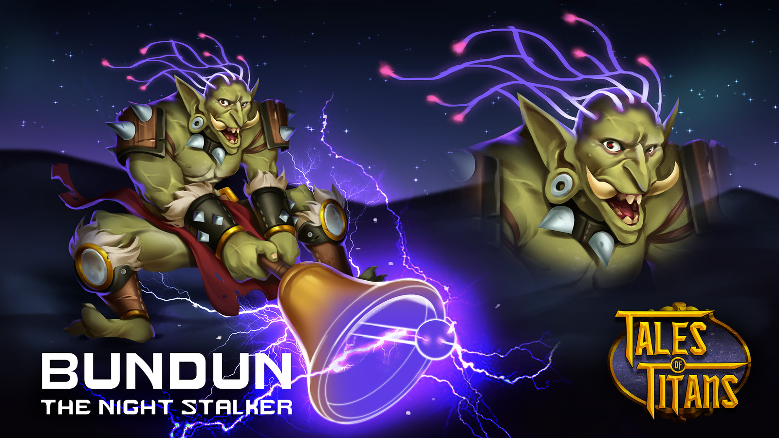 Tales of Titans - BUNDUN: THE NIGHT STALKER