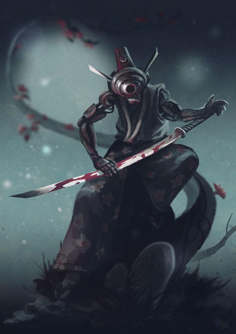 Artstation Guerrier De L Ombre Shadow Warrior Dorian
