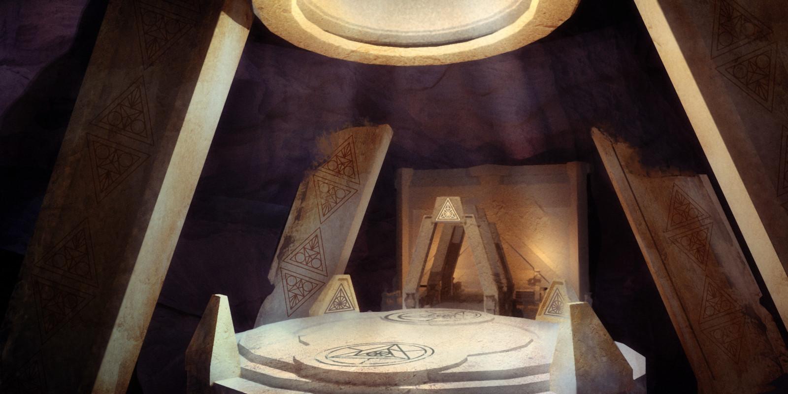 Sun Temple interior concept 2