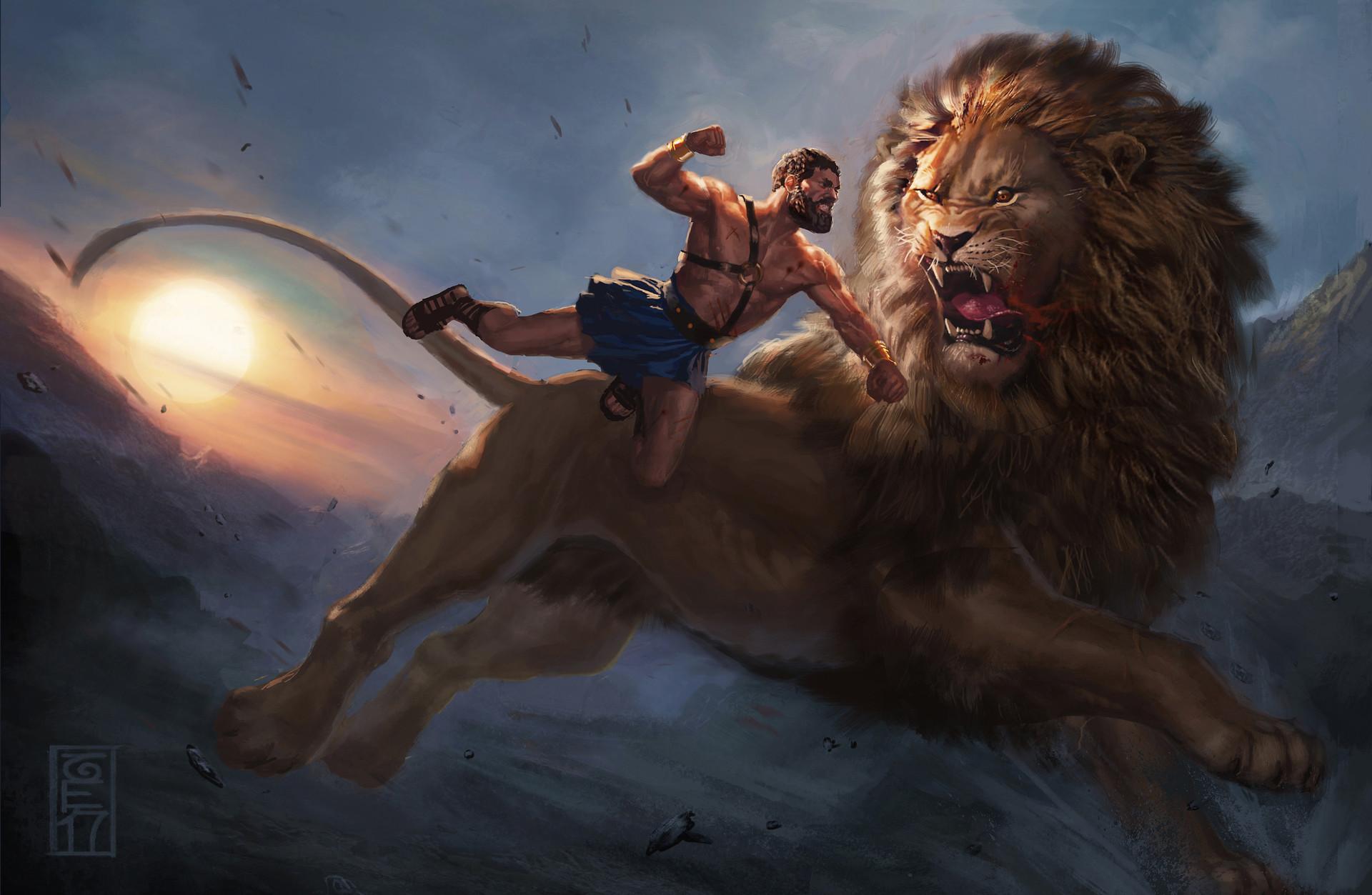 Sean randolph nemean lion new 9 final 23pio