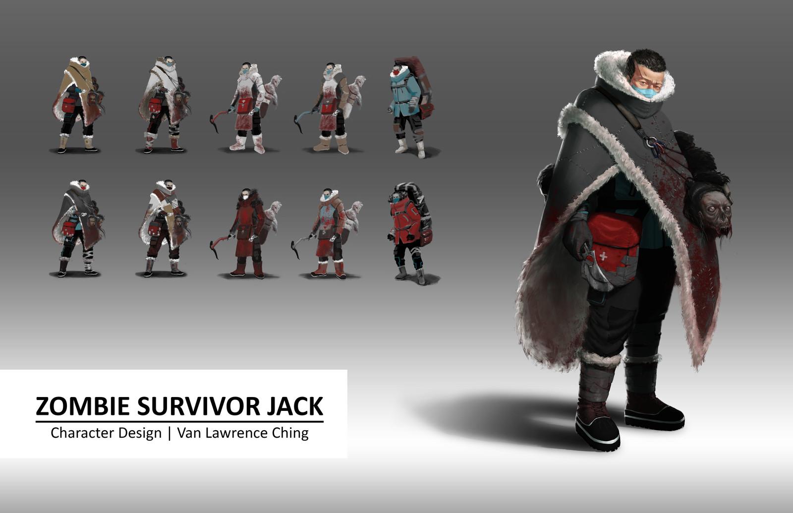 Zombie Survivor Jack