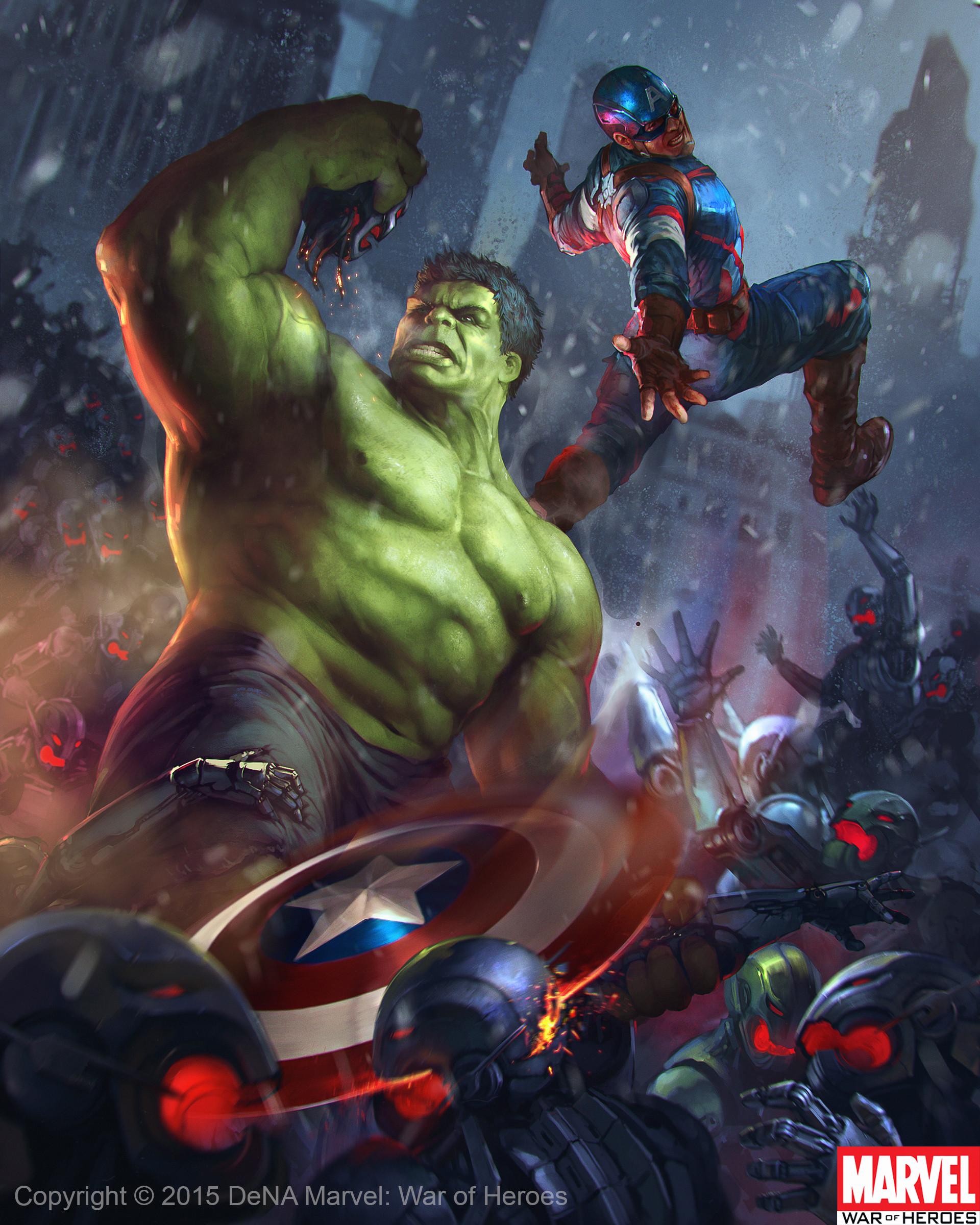 Denys tsiperko hulk captain america evo 2