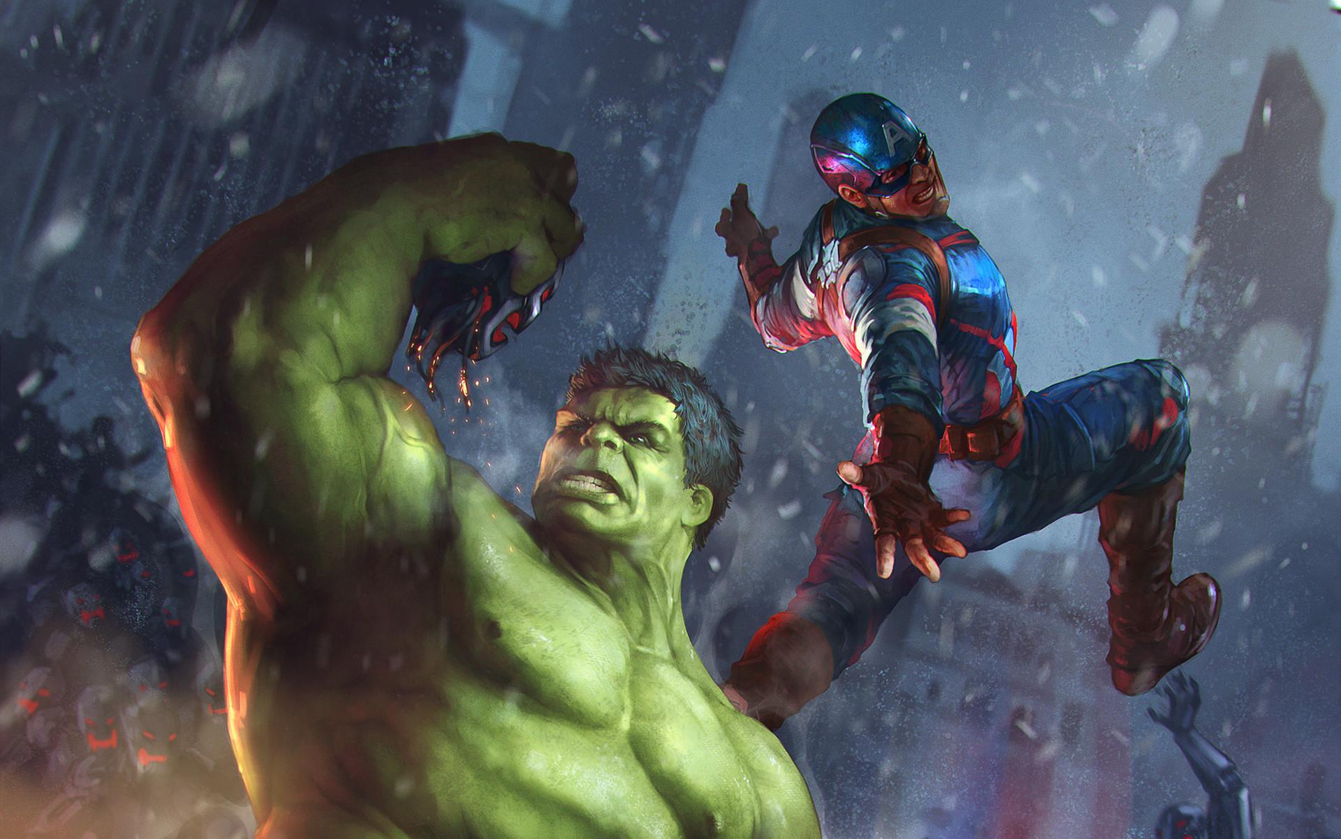 Denys tsiperko hulk captain america evo 2 2