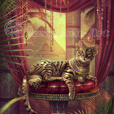 Vasilyna holod egyptian cat da