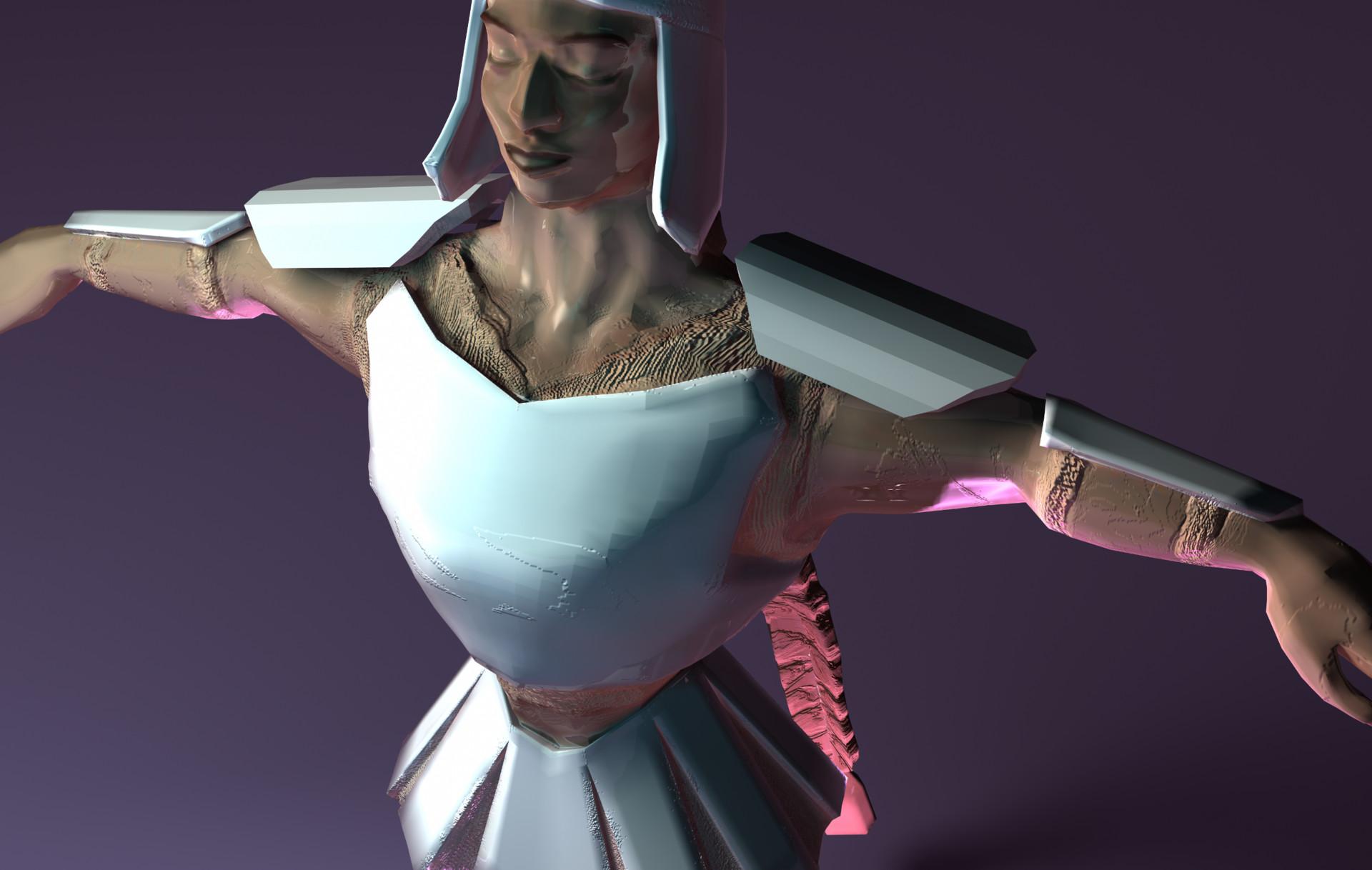 Eireni moutoussi warrior render 2