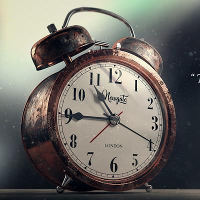 Ravissen carpenen vintage clock