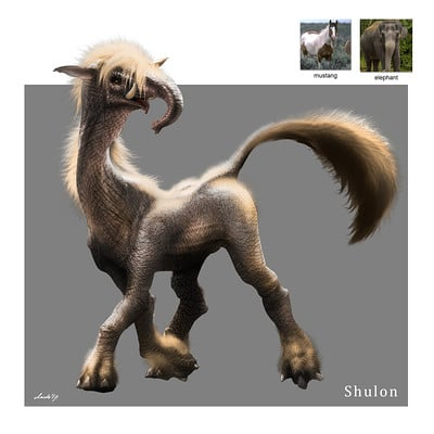 Midhat kapetanovic random creature mashup 041 shulon