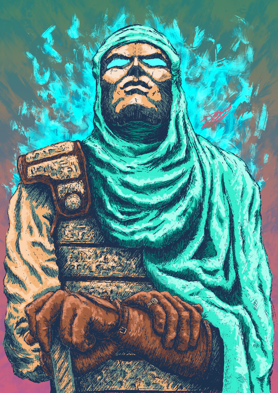 Fantasy Persian Immortals