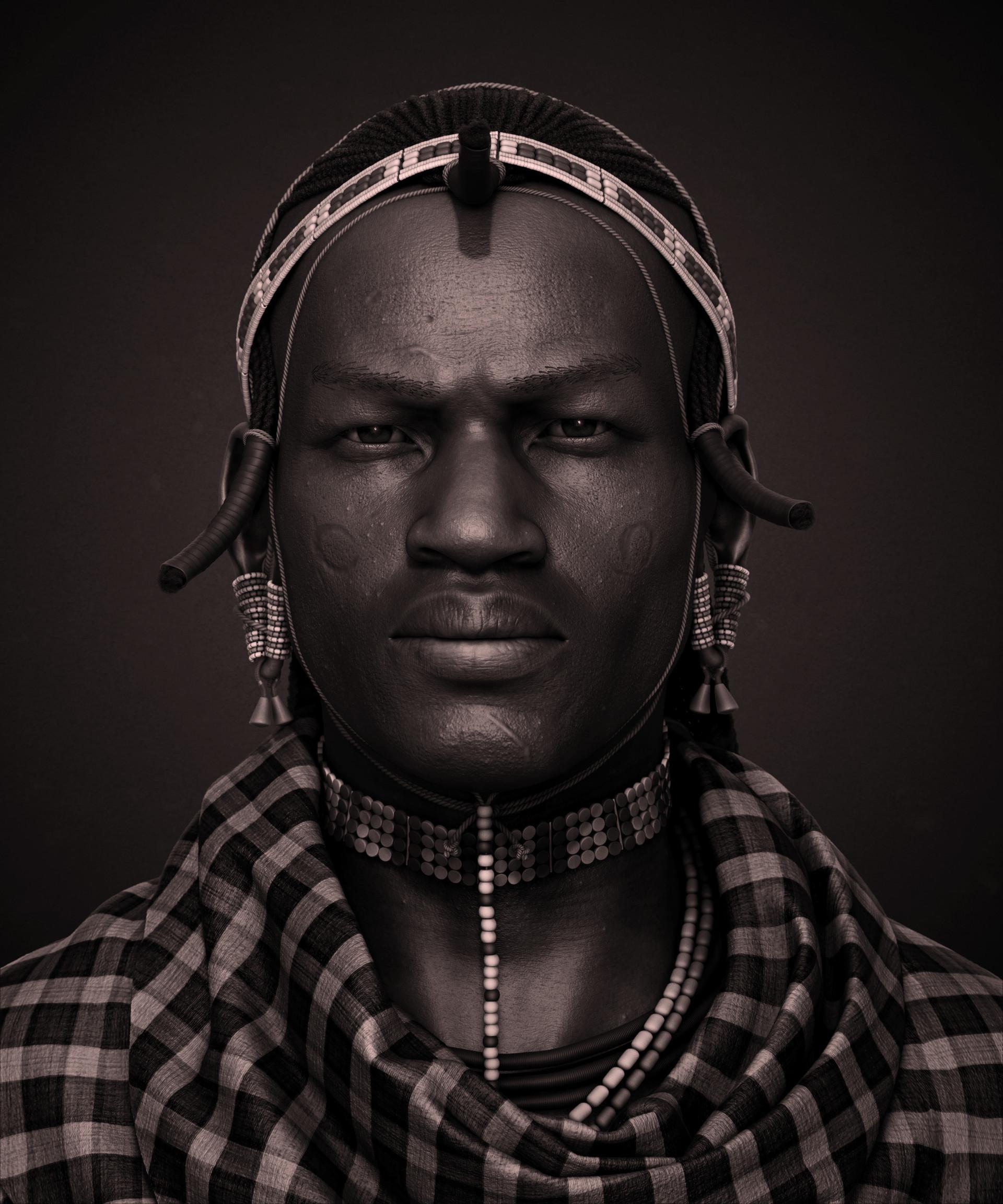 Capítulo 1 - Acústica do Coração Talhado - Página 3 Gabriel-reis-african-massaiwarrior