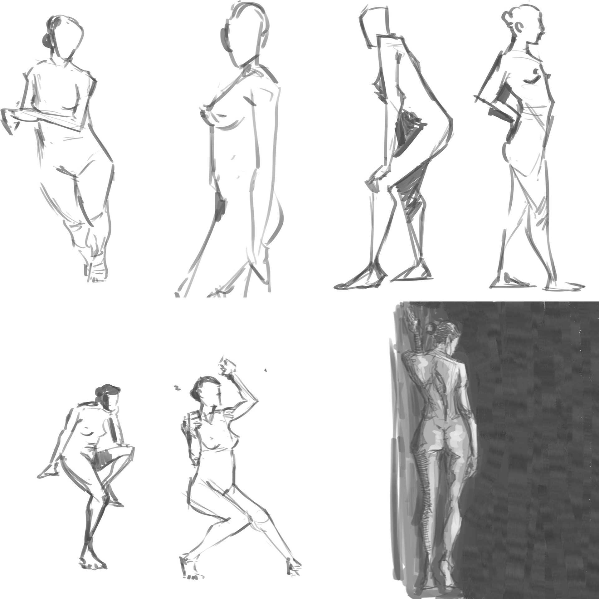 Artstation Figure Drawing Ju Bel