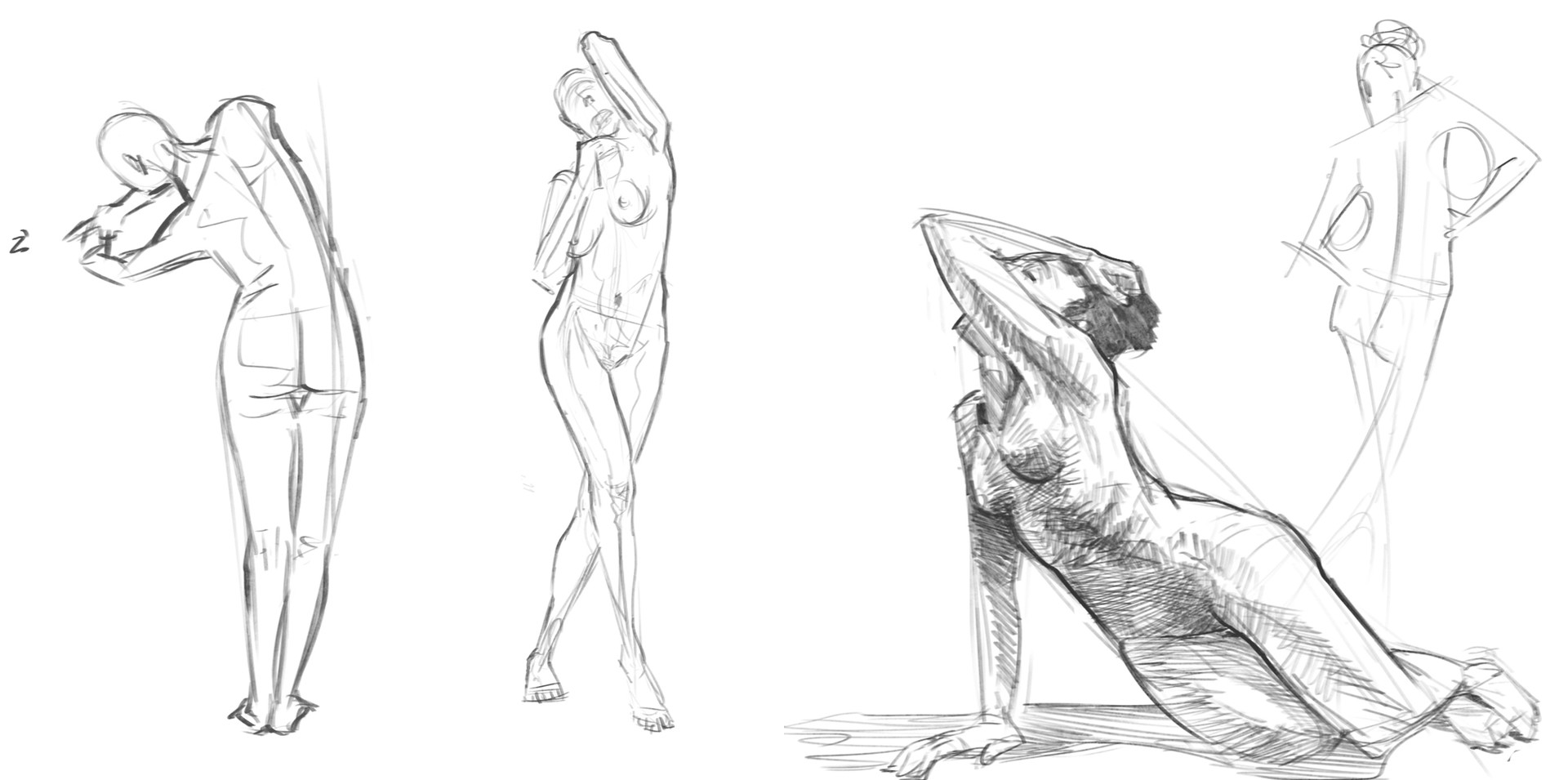 ArtStation - Figure Drawing, Ju Bel