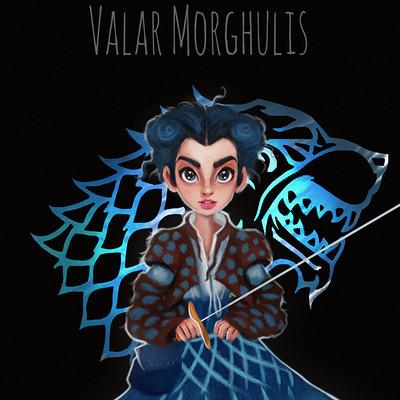 Niniel illustrator valar morghulis low