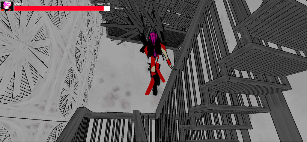 Michael kumpmann machine angel nanako chan screenshot stairs by ssjkamui d5w411k