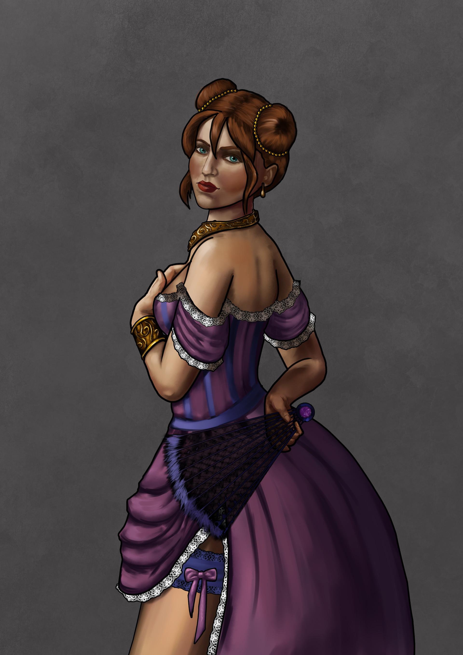 Joanna efenberger courtesan