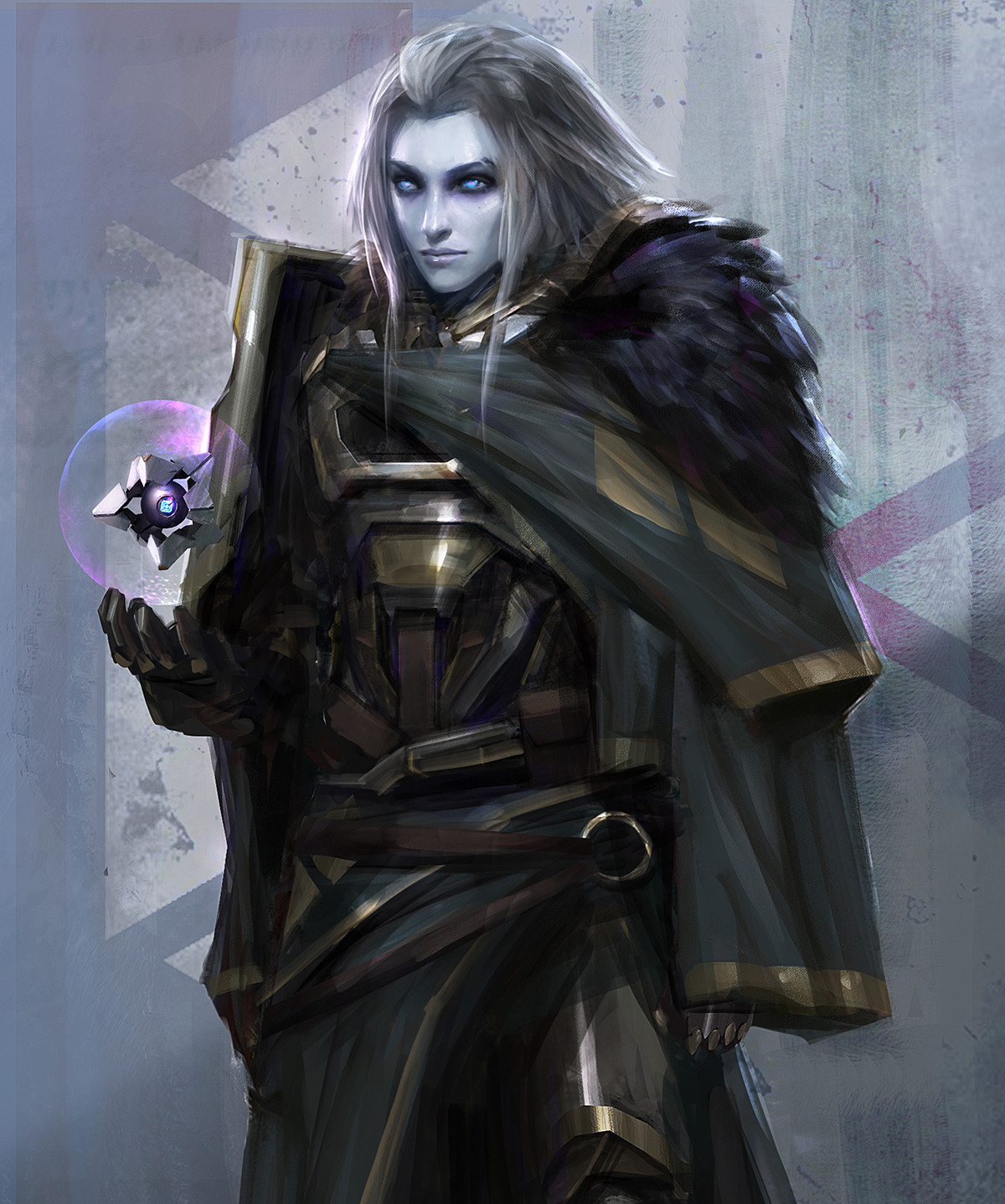 Destiny Fanart - Mara Sov, Queen of Titans