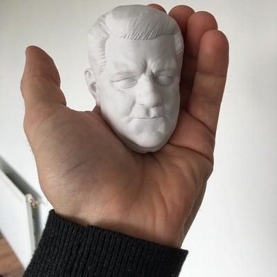 3d printing test jean gabin french actor