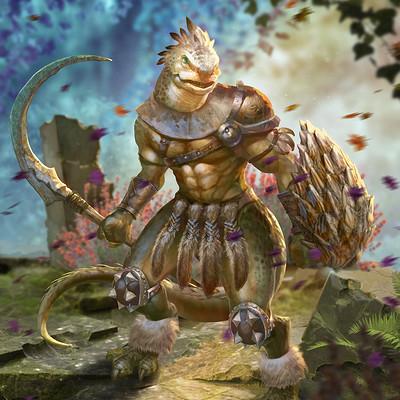 Chunyu lin lizard warrior 20170421
