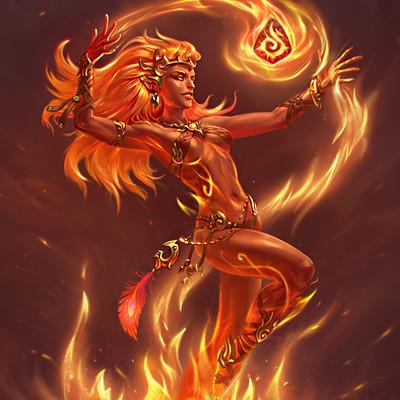 Marina kleyman nebo firegirl